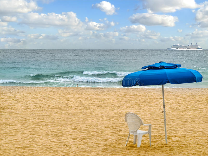 Download Beach stock photo. Image of destination, blue, remote - 24504604