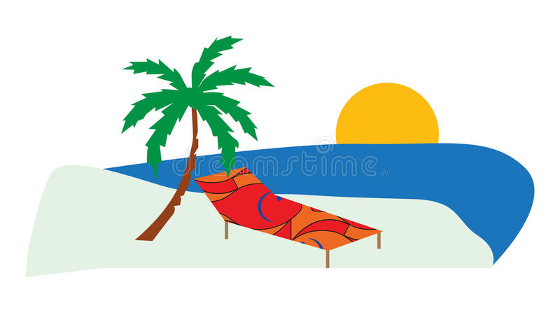 Download Beach stock vector. Image of travel, happiness, beach - 25963392