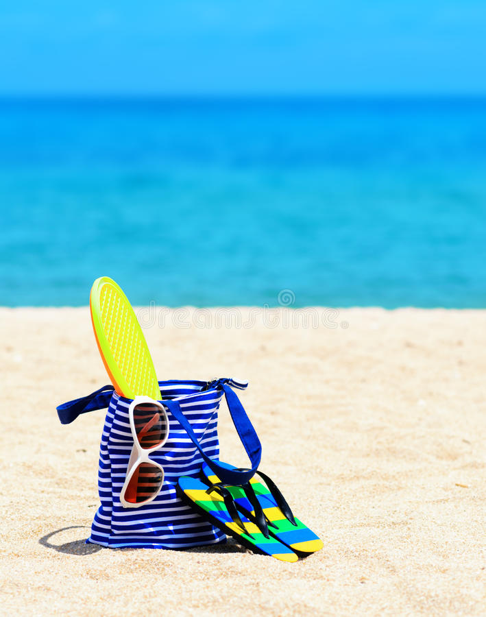 Download Beach stock image. Image of beach, leisure, accessory - 26861541