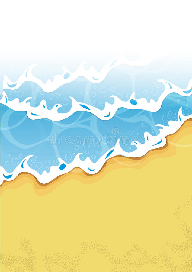 beach stock illustration