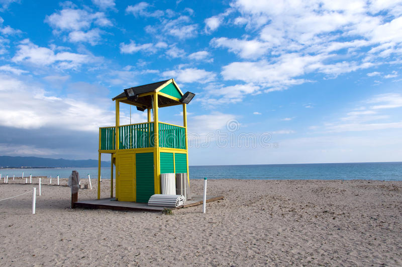 Download Beach stock image. Image of establishment, poetto, homes - 29375859