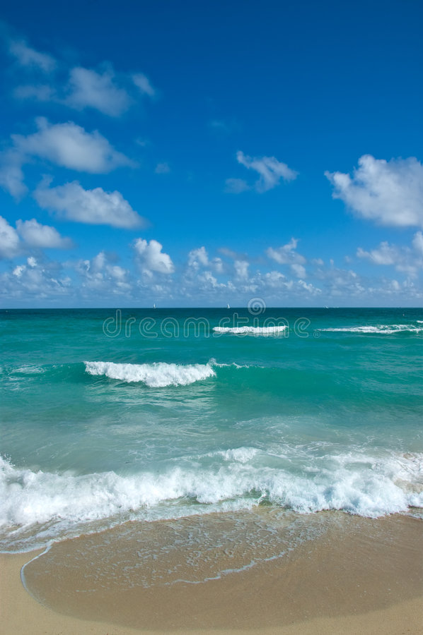 Download The Beach stock photo. Image of getaway, scene, blue, resort - 3927860