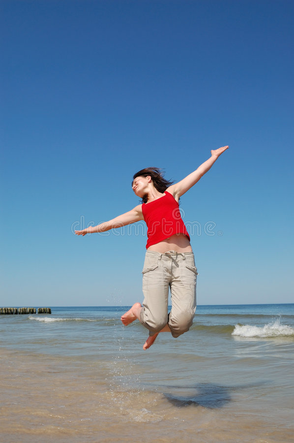 Download On The Beach Stock Photo - Image: 5584080