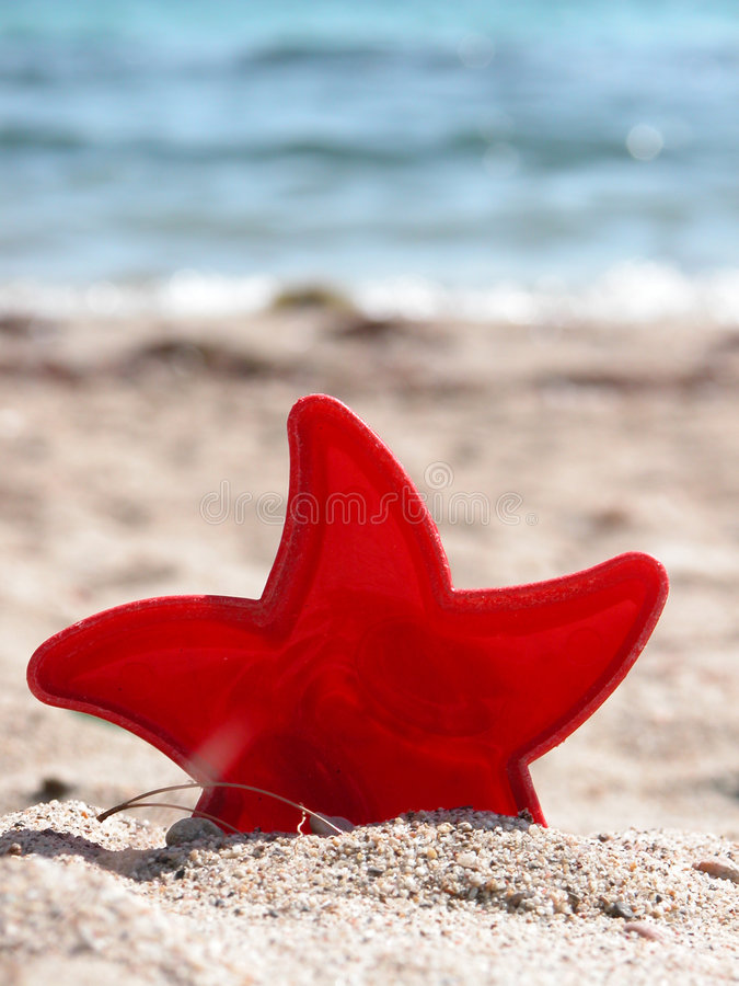 At the beach royalty free stock images