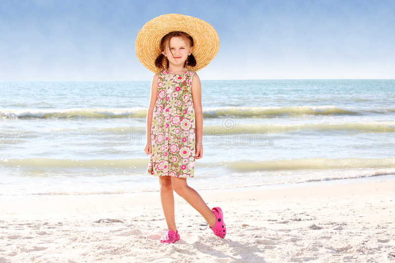 Download Beach. stock image. Image of people, person, coast, dress - 7678851