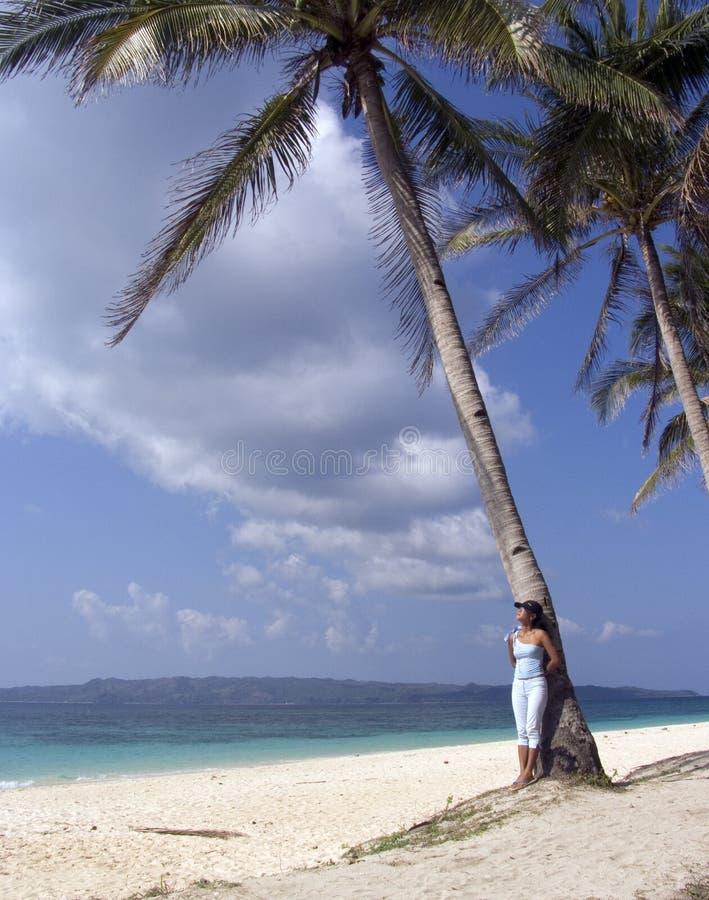The beach 8 stock image