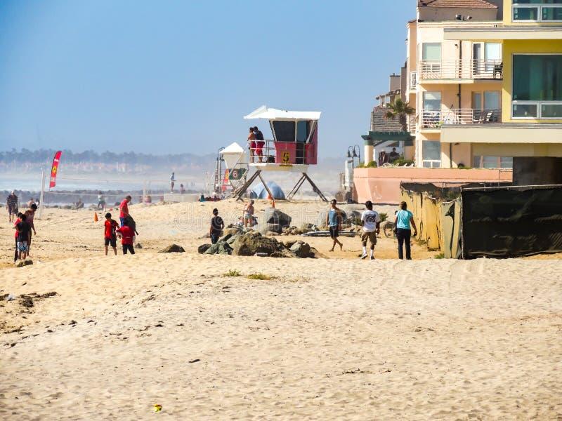 Beach3 免版税图库摄影
