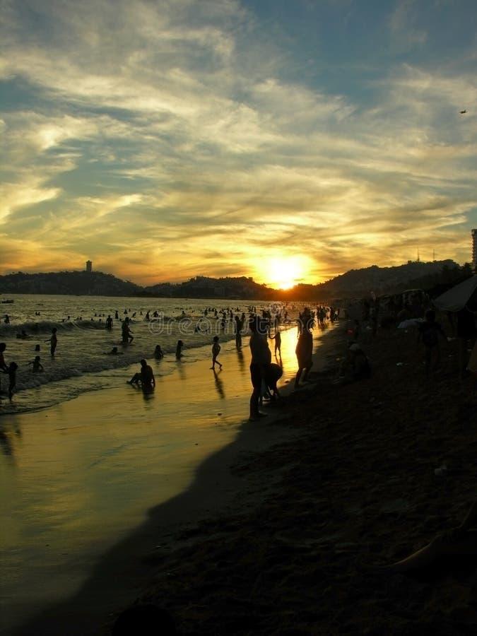 beach acapulco obraz royalty free