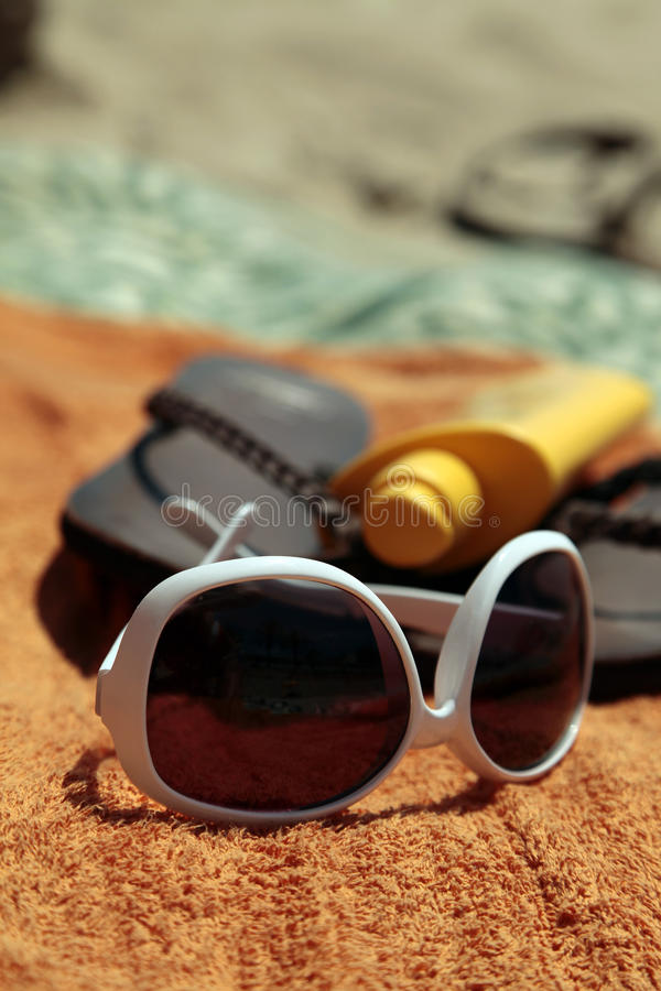 Download Beach Accessories stock image. Image of relaxation, skin - 14857011