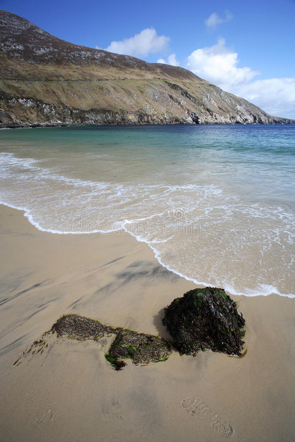 Download Beach in Achill Island stock photo. Image of paradise - 12983088