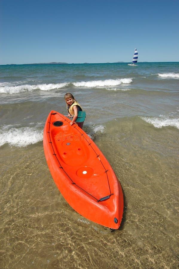 Beach Activities Royalty Free Stock Image