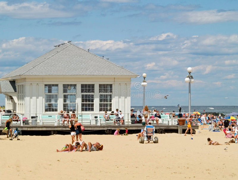 Download Beach Activity stock image. Image of beach, vacation, building - 2731233