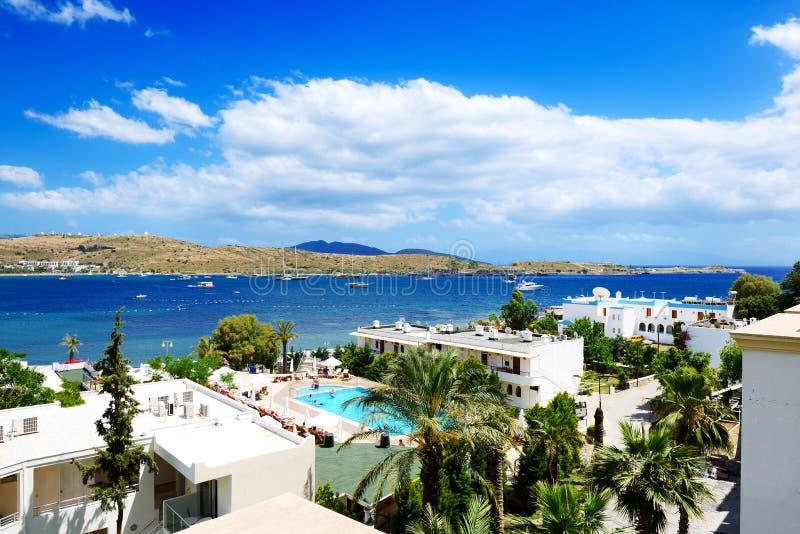 Download The Beach On Aegean Turkish Resort Stock Image - Image: 36585525