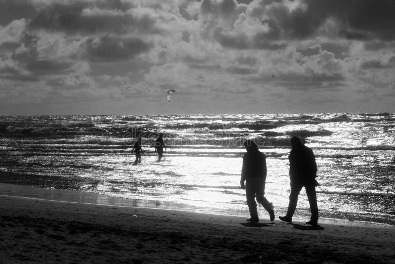 beach aktywności zdjęcia stock