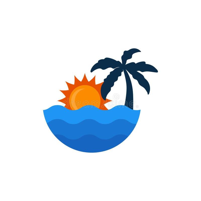 Free Beach And Sun Vector Graphic Design Illustration Template Stock Photos - 181602203