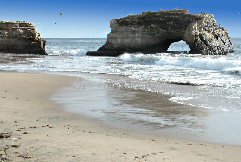 Beach Arch royalty free stock image