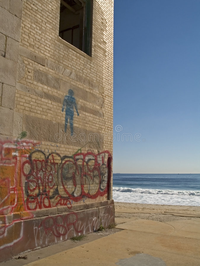 Beach Art royalty free stock photography