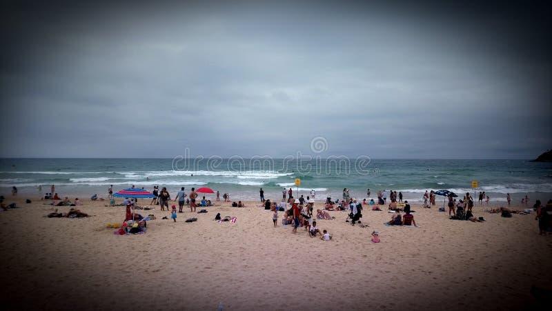 Beach in Australia stock photos