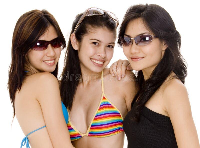 Beach Babes #11 royalty free stock photo