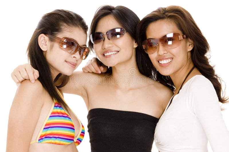 Download Beach Babes #20 stock photo. Image of sunglasses, asian - 426286