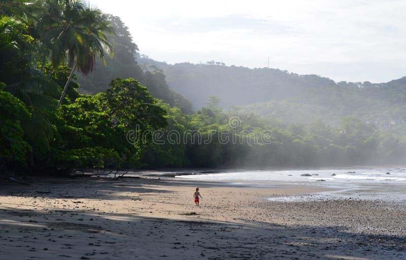 Beach baby stock photo