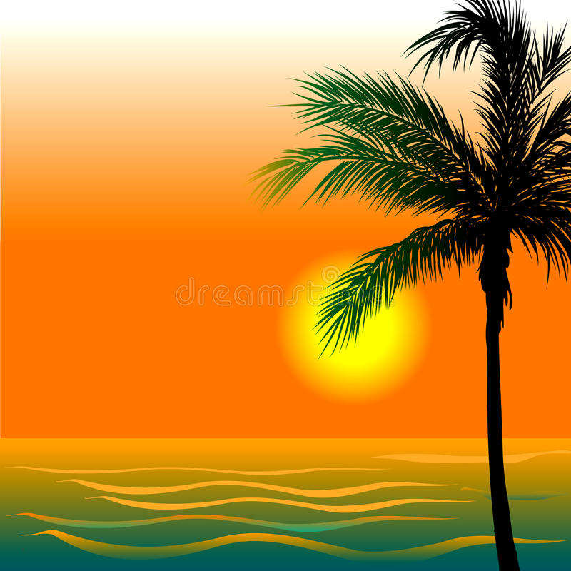 Download Beach Background 4 stock vector. Illustration of rico - 20423842