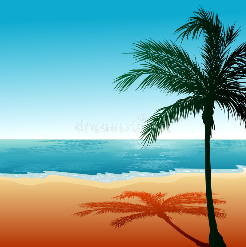 Download Beach Background 6 stock vector. Image of madagascar - 20423115