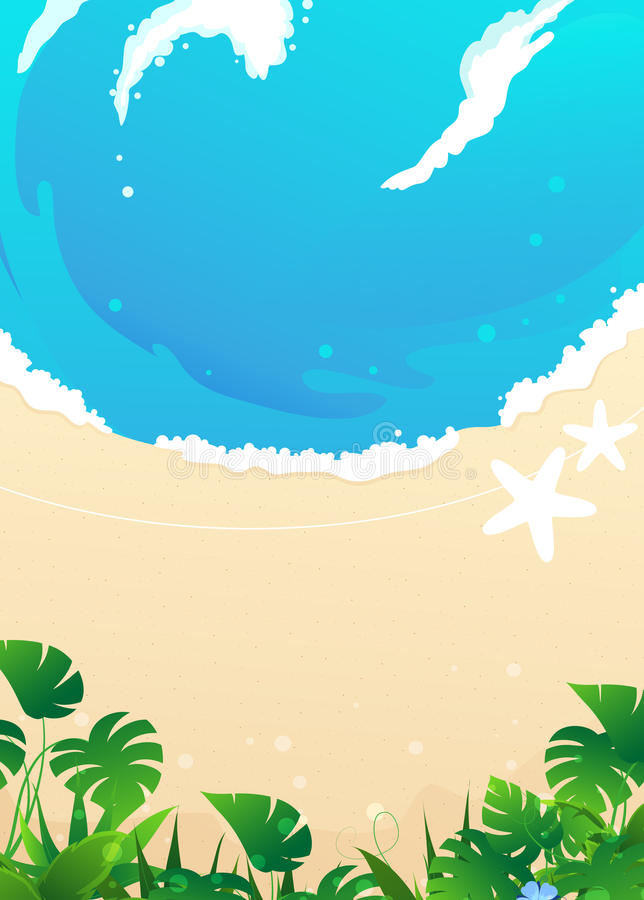 Download Beach Background stock photo. Image of island, blue, heat - 34003986