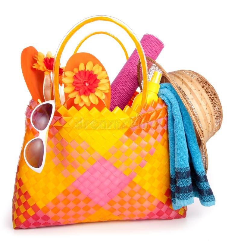Free Beach Bag Royalty Free Stock Photo - 18862165