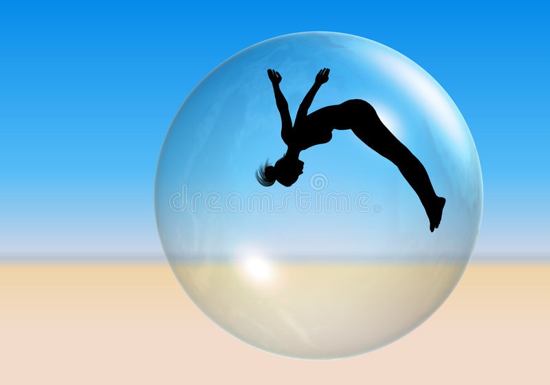 Download Beach Ball Royalty Free Stock Image - Image: 1069036