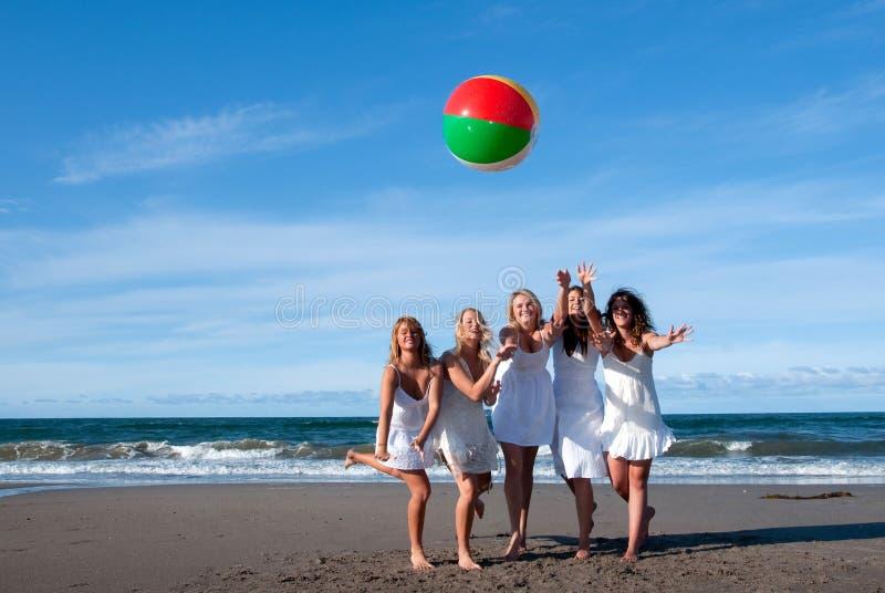 Beach ball royalty free stock photos