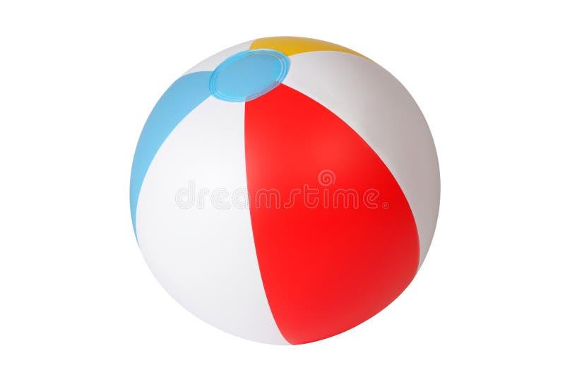 Beach ball stock photography