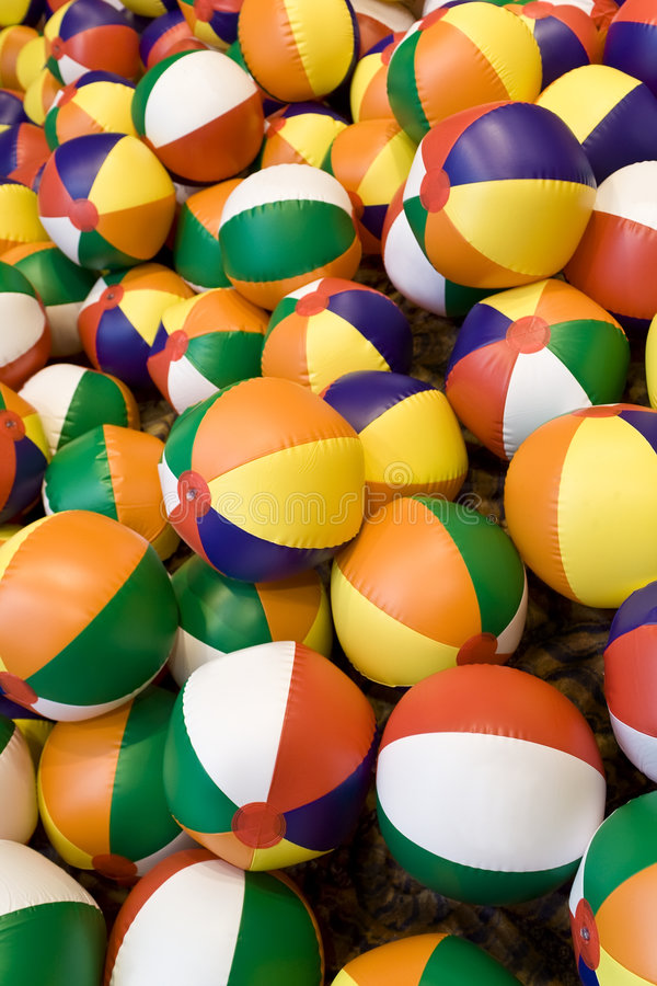 Beach Balls! royalty free stock images