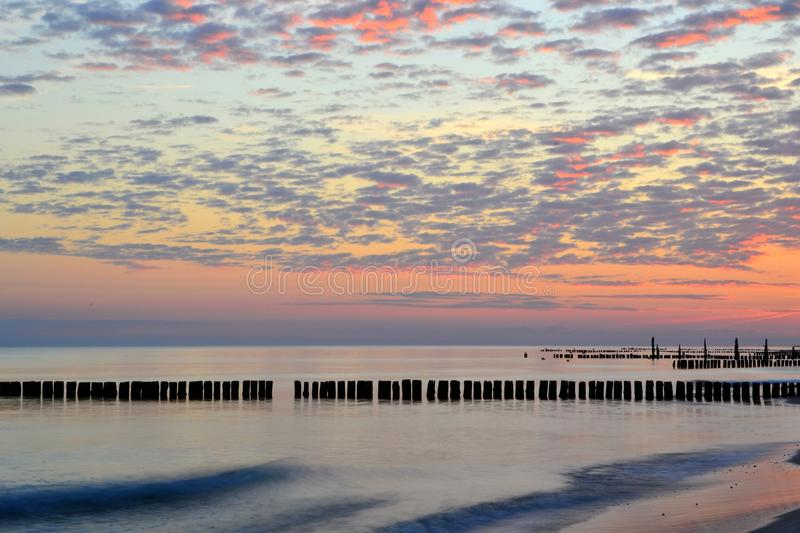 Download On The Beach Of The Baltic Coast Stock Image - Image: 34262805