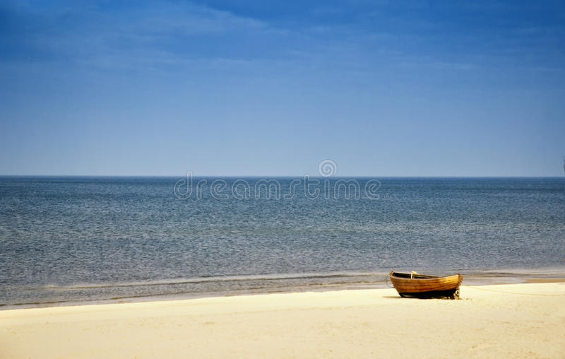 Download Beach at Baltic Sea stock image. Image of grass, europe - 13773541