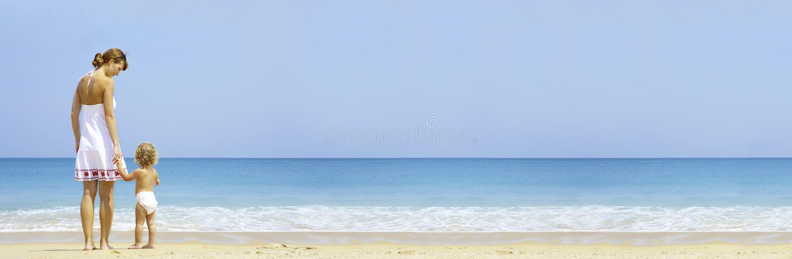 Download Beach Banner Royalty Free Stock Images - Image: 6312429