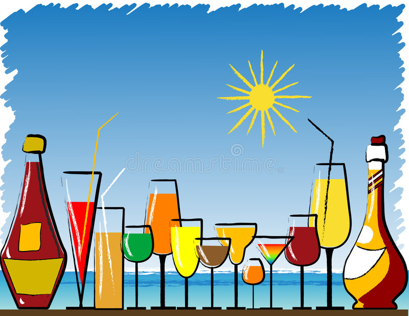 Download Beach bar stock vector. Illustration of lifestyles, hawaii - 2749062