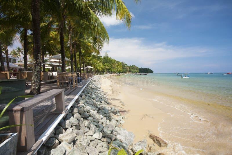 Beach bar, Bang Tao, Phuket.  royalty free stock photo