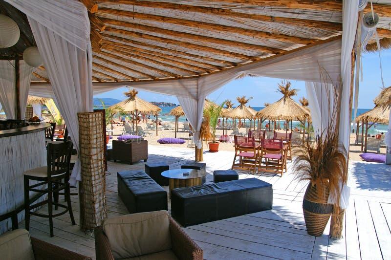 Download Beach Bar Near Nessebar, Bulgary Stock Photo - Image: 14518274