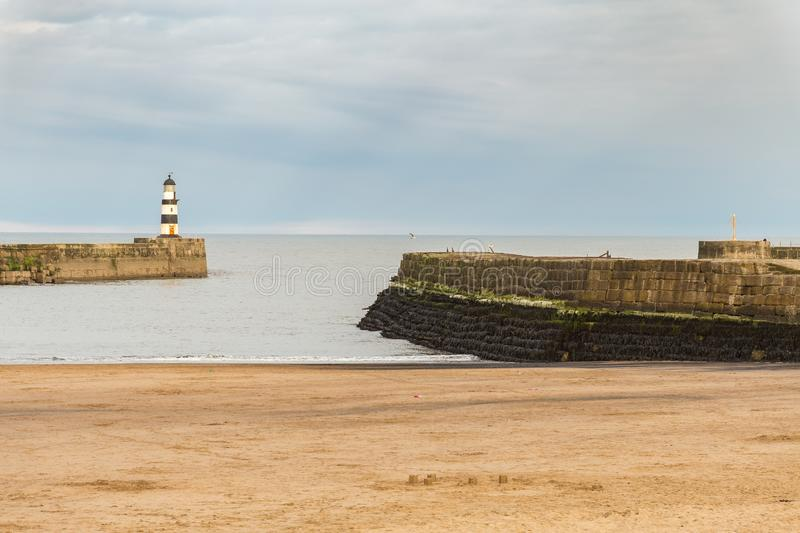 Seaham, County Durham, UK stock photo