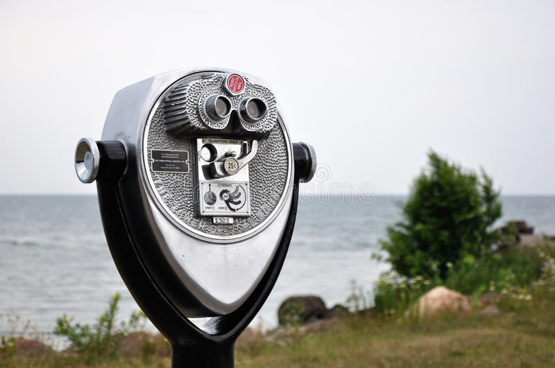 Download Beach Binoculars stock image. Image of rocks, breeze - 27956193