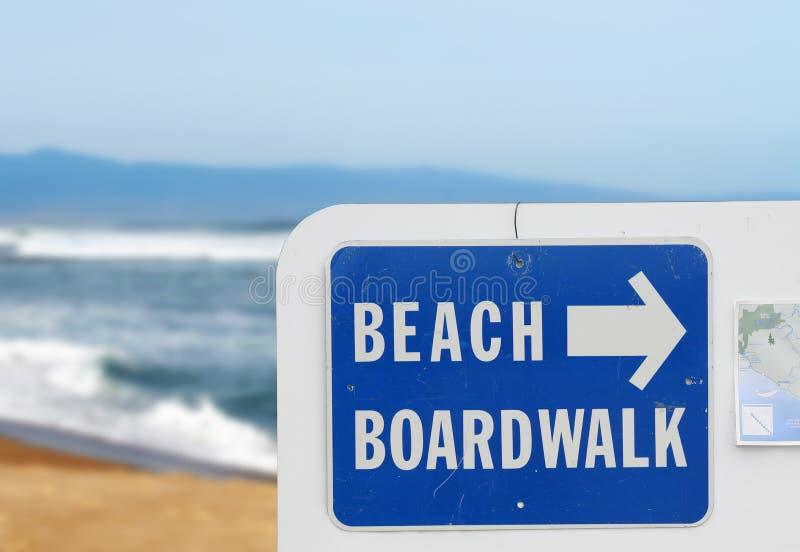 Beach Boardwalk royalty free stock image