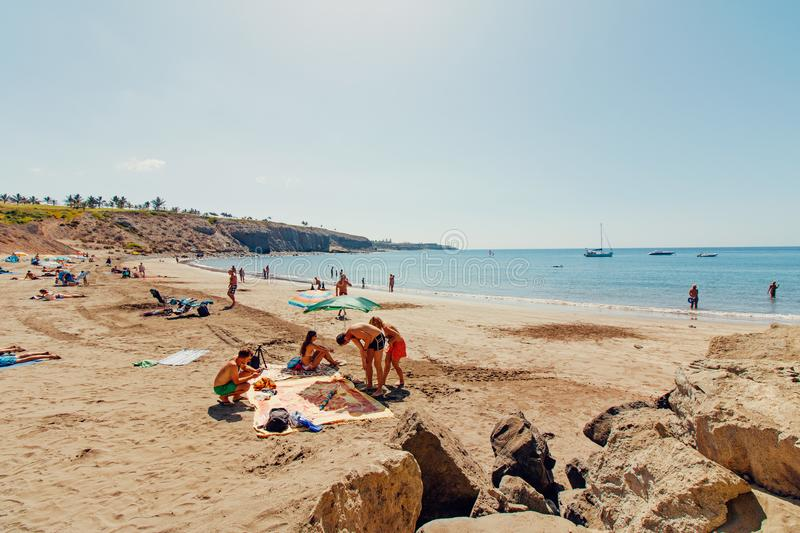 Beach, Boats, Clear royalty free stock photography