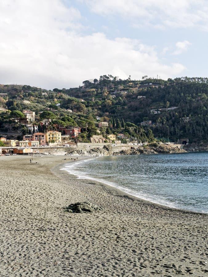 Download Beach in bonassola stock image. Image of village, beach - 83711013