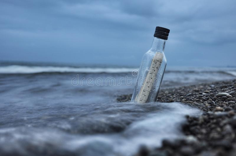 Beach, Bottle, Cold royalty free stock images