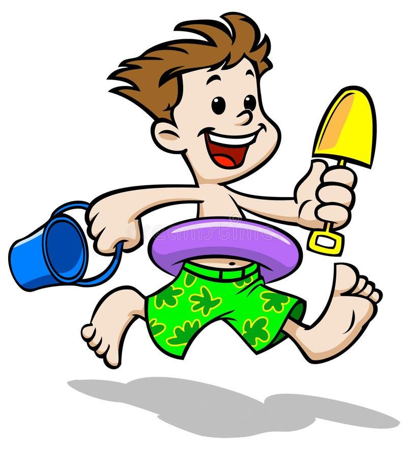 Download Beach Boy stock illustration. Image of water, refreshing - 10261900