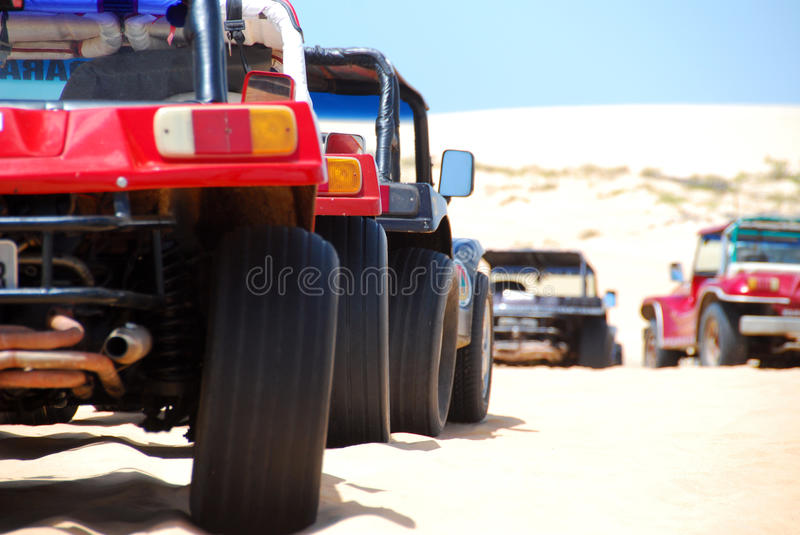 Beach Buggies Royalty Free Stock Photography