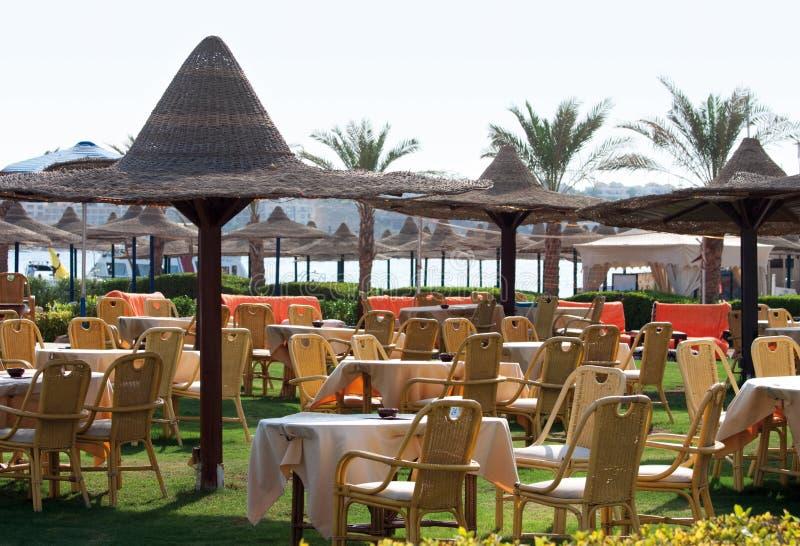 Beach Cafe Stock Photo