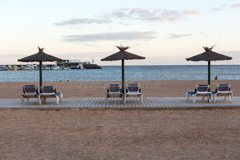beach caleta de fuerteventura fuste στοκ φωτογραφίες με δικαίωμα ελεύθερης χρήσης