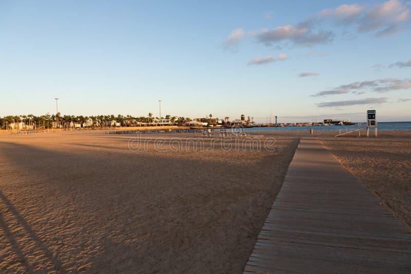 beach caleta de fuerteventura fuste στοκ φωτογραφία με δικαίωμα ελεύθερης χρήσης